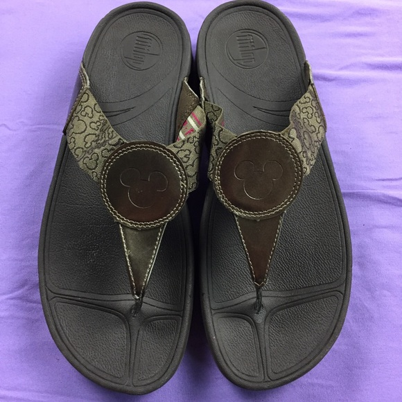 cfb7e621672 Fitflop Shoes - Fit Flops Disney Mickey Mouse Women s Size 10